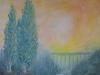 Poplars in a Landscape